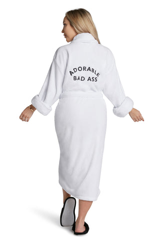 LUXE PLUSH ROBE  - Supermom