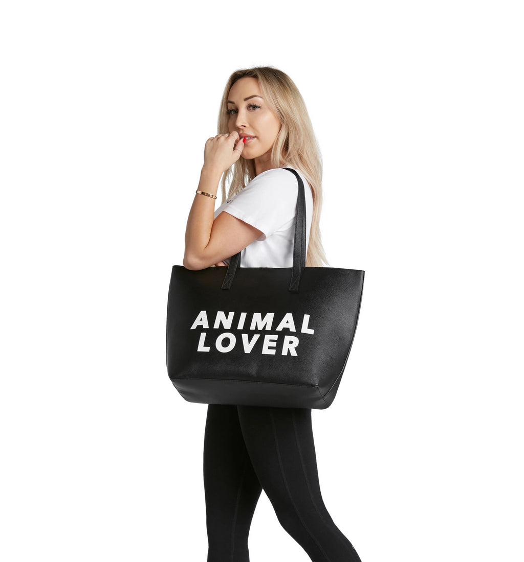 The Vegan Tote- Animal Lover