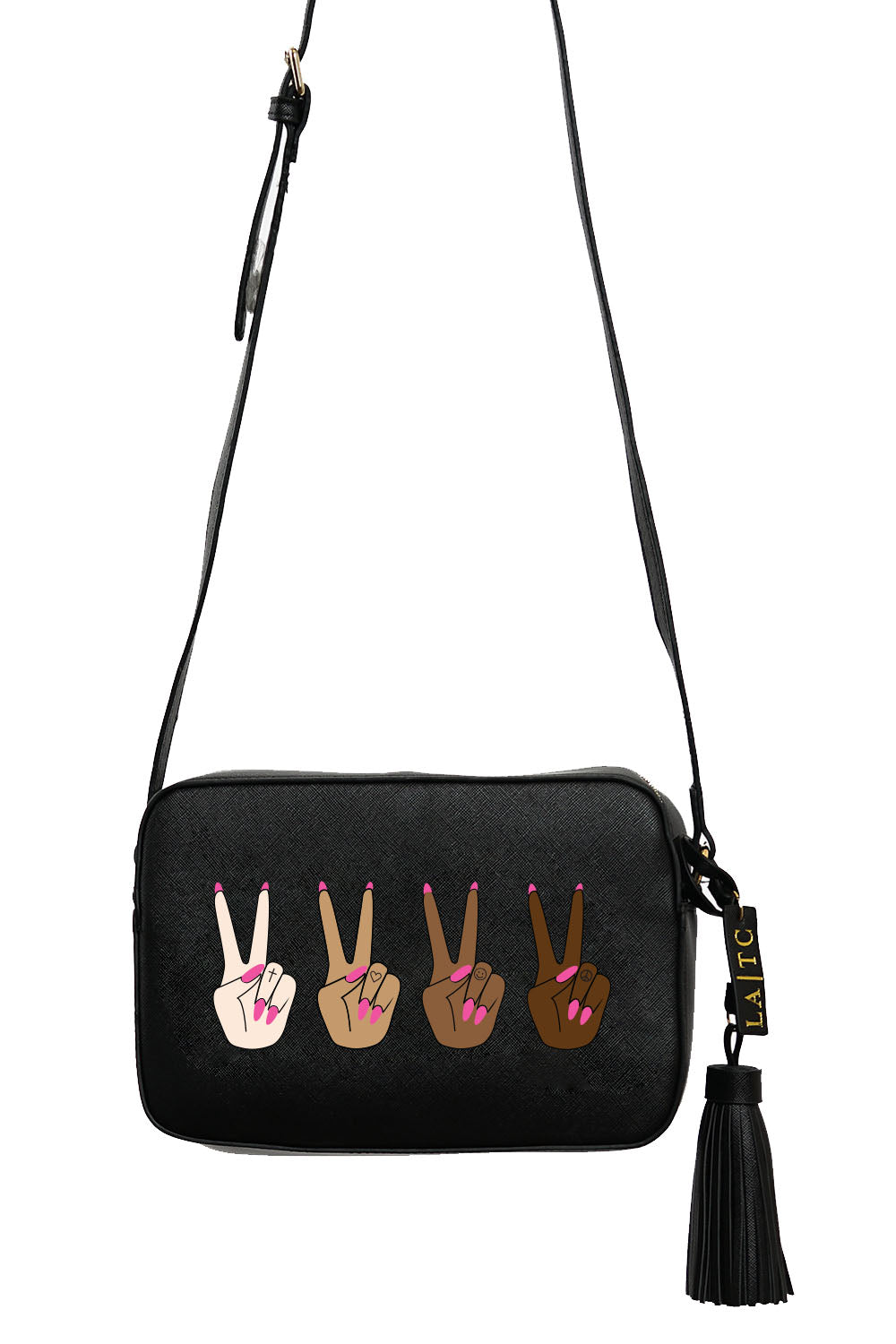 VEGAN CROSSBODY BAG - Pray For Peace