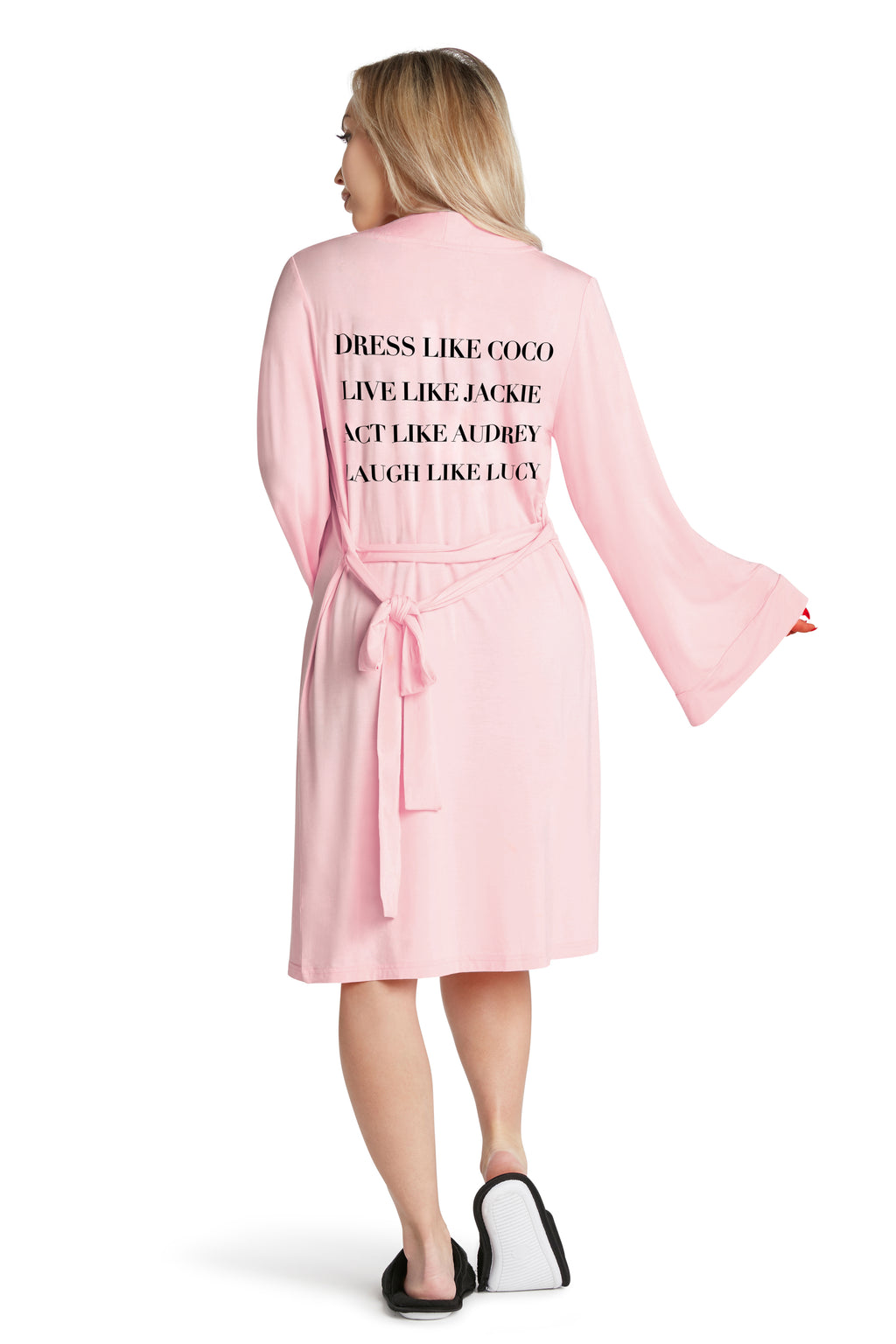 LIGHTWEIGHT ROBE - Dress Like Coco - Pink