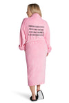 LUXE PLUSH ROBE PINK- The Power Of A Woman