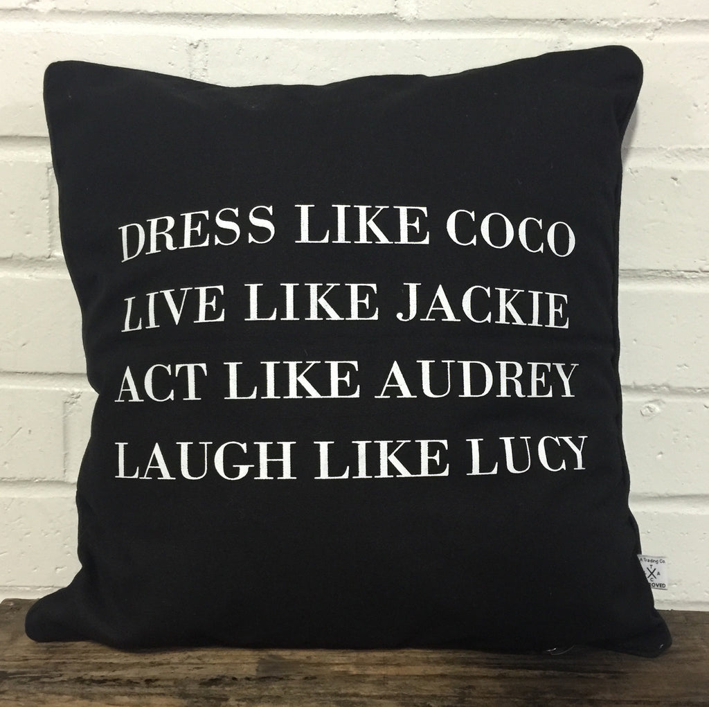 Pillow- Dress like coco
