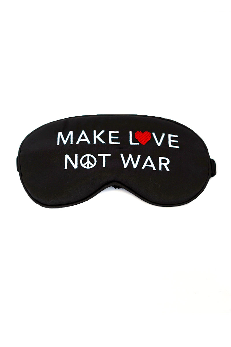 DREAMER EYE MASK- Make Love Not War
