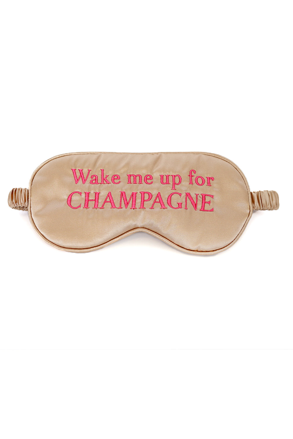 DREAMER EYE MASK -Wake Up Champagne