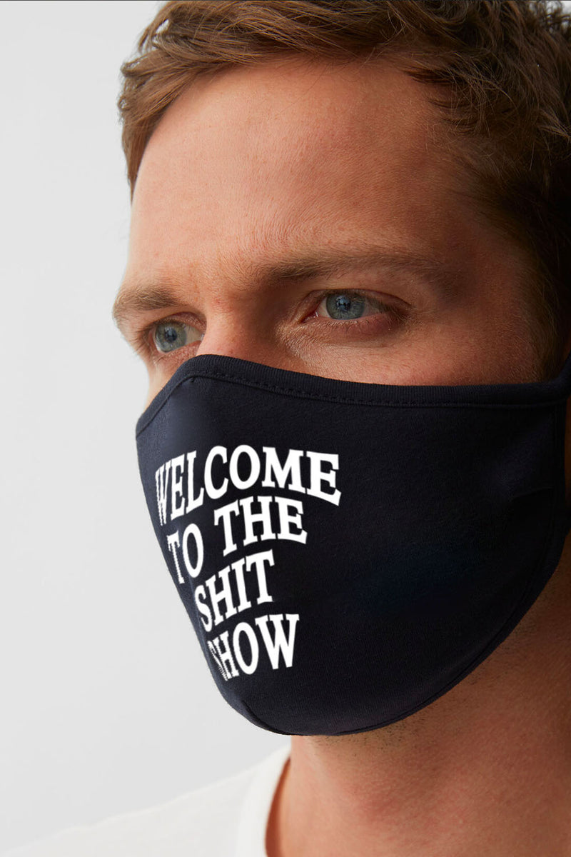 FACE MASK - Shit Show (Black)
