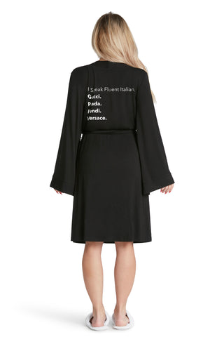 Lightweight Robe-Dreaming Of Chanel
