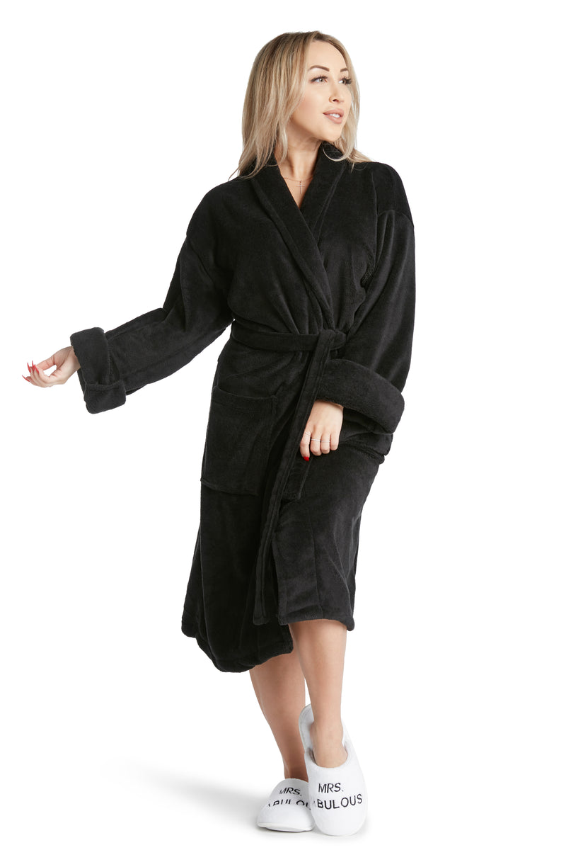 Plush Robe- Great In Bed