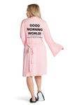 Lightweight Robe- Good Morning World
