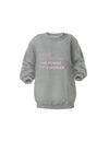 Womens Crew Neck- Cuddle Dog