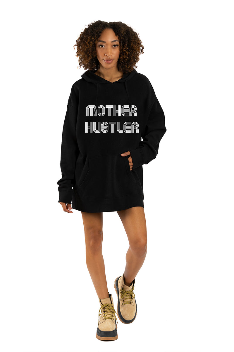 DRIX OVERSIZED HOODIE  - Mother Hustler