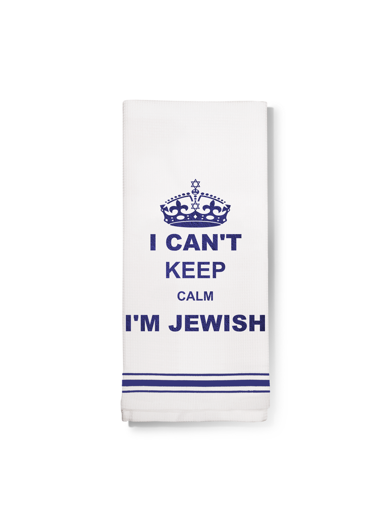 Towel- Can't keep calm I'm Jewish