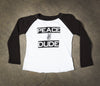Kids- Peace Dude Raglan