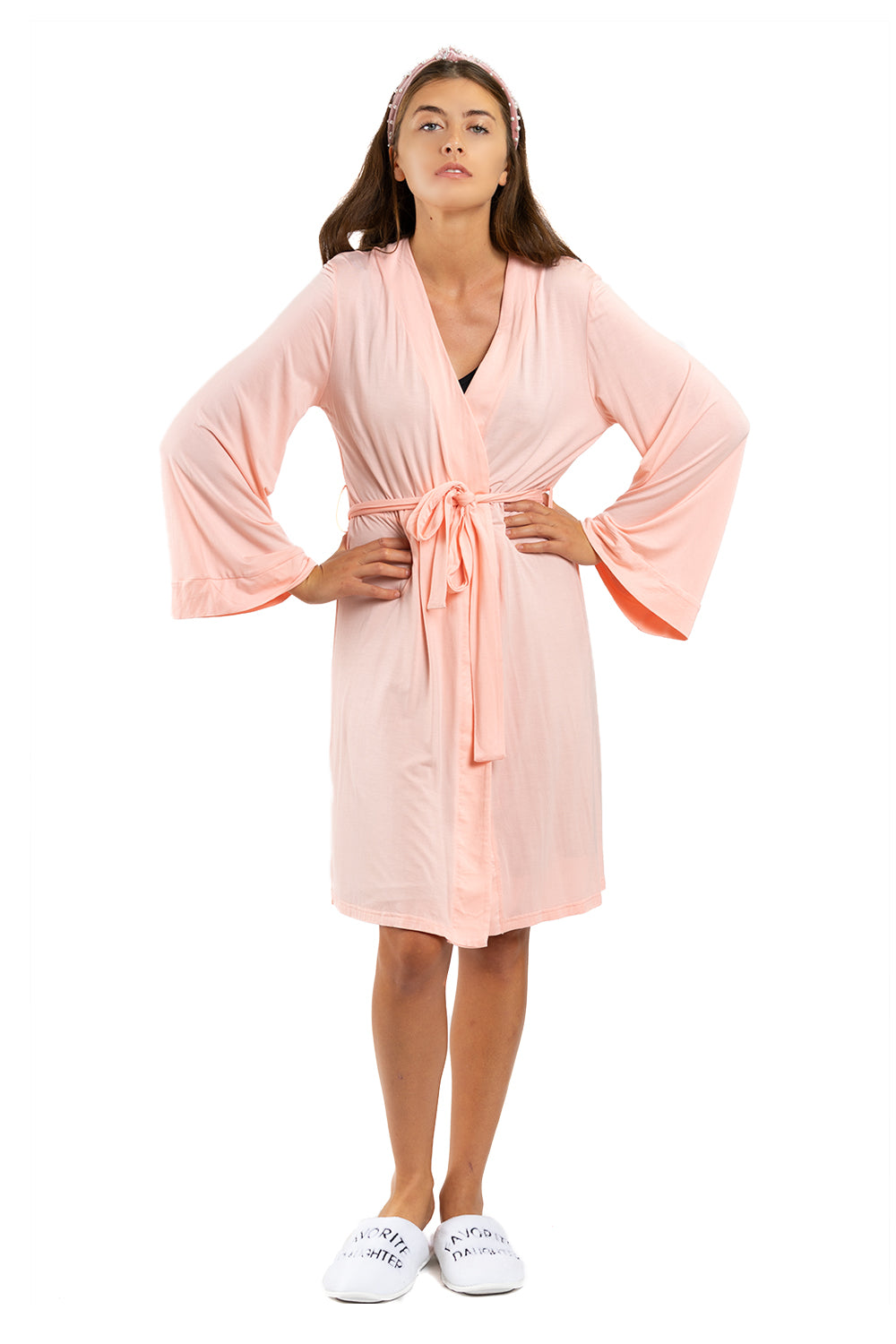 LIGHTWEIGHT ROBE - All Bubbles No Troubles