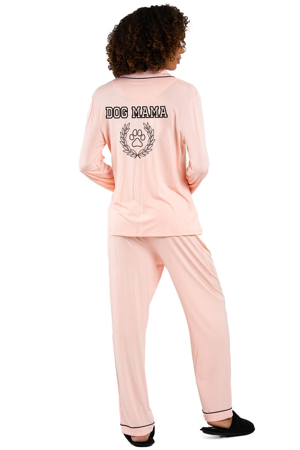 LIGHTWEIGHT PAJAMA SET -Dog Mama