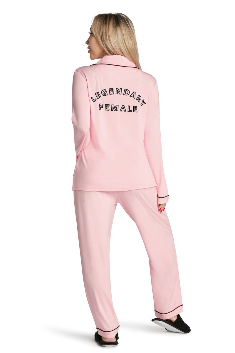 Lightweight Pajama Set-Legendary Female