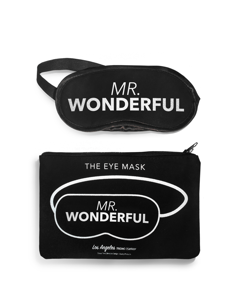 Eye Mask- Mr. Wonderful