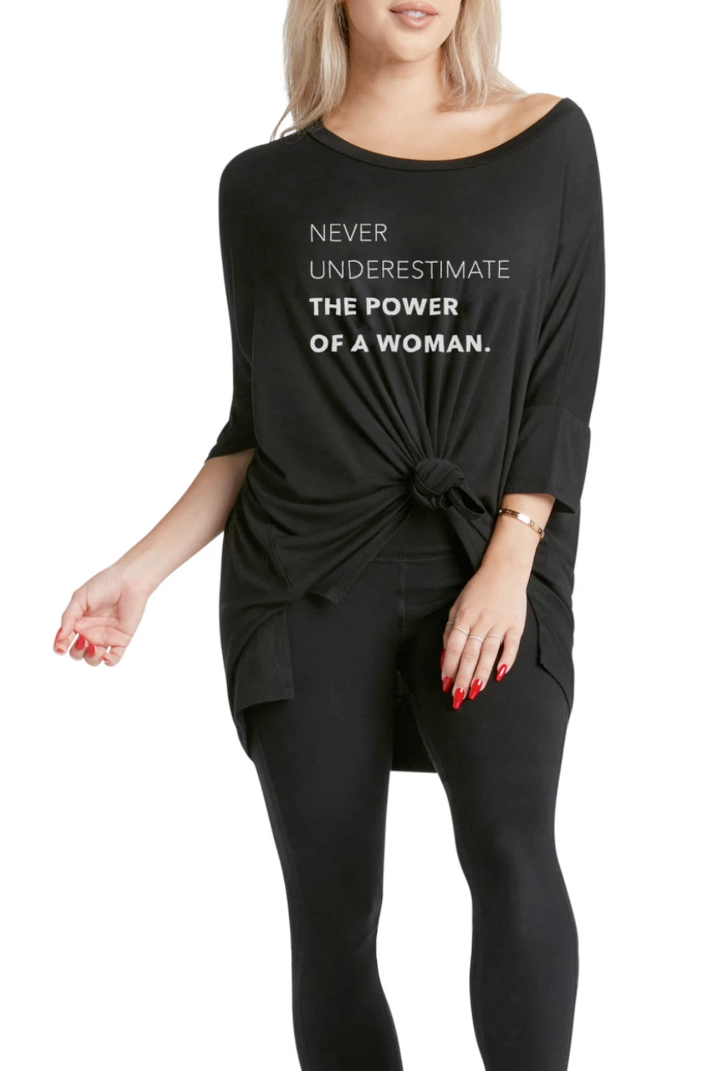 MIMI TEE - Never Underestimate The Power of a Woman
