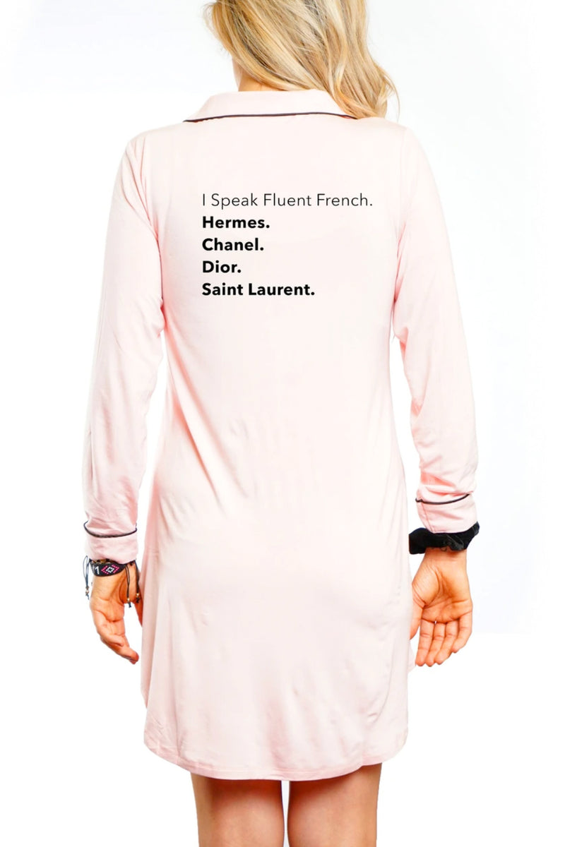 NIGHTSHIRT - Fluent French