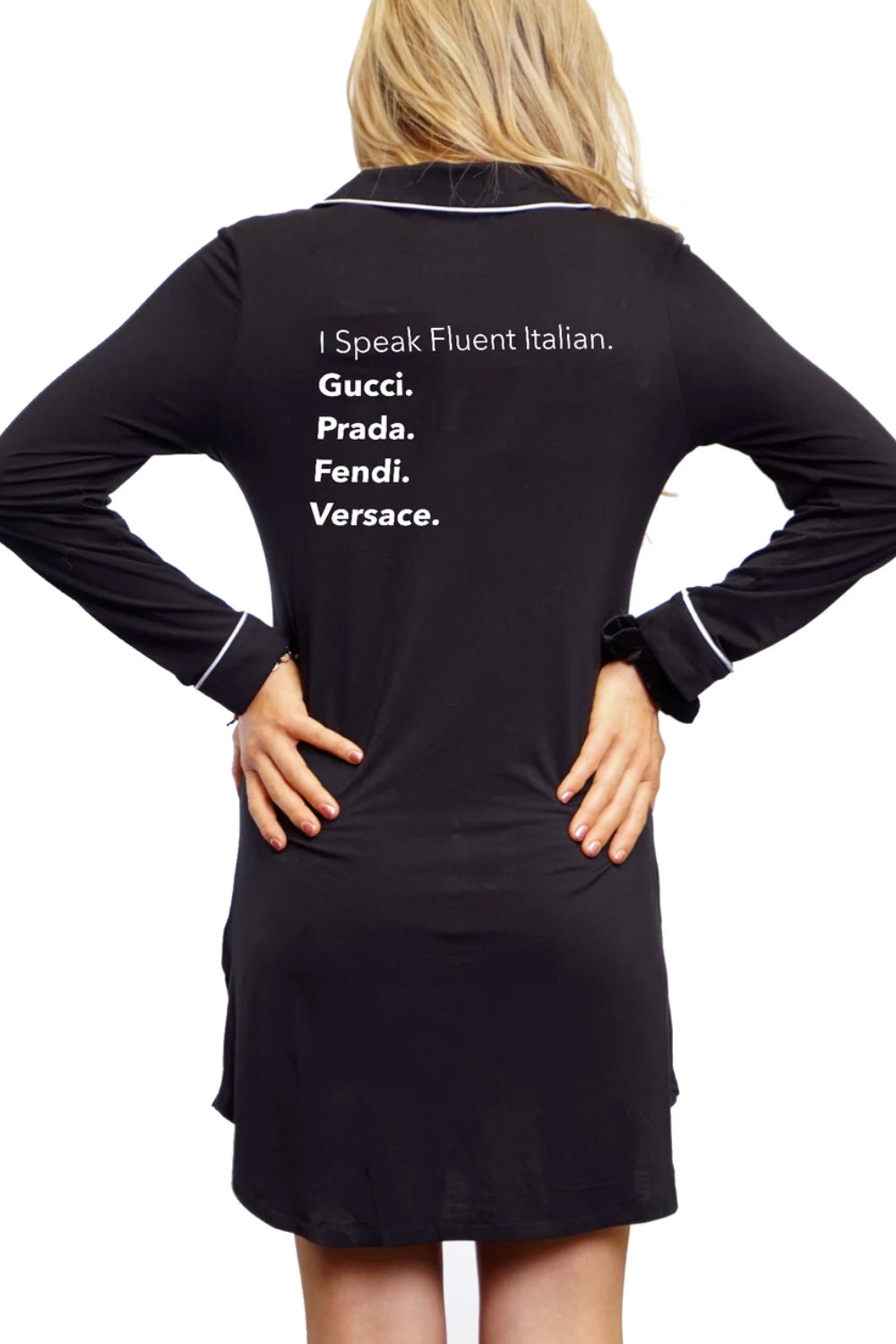 Nightshirt - Fluent in Italian