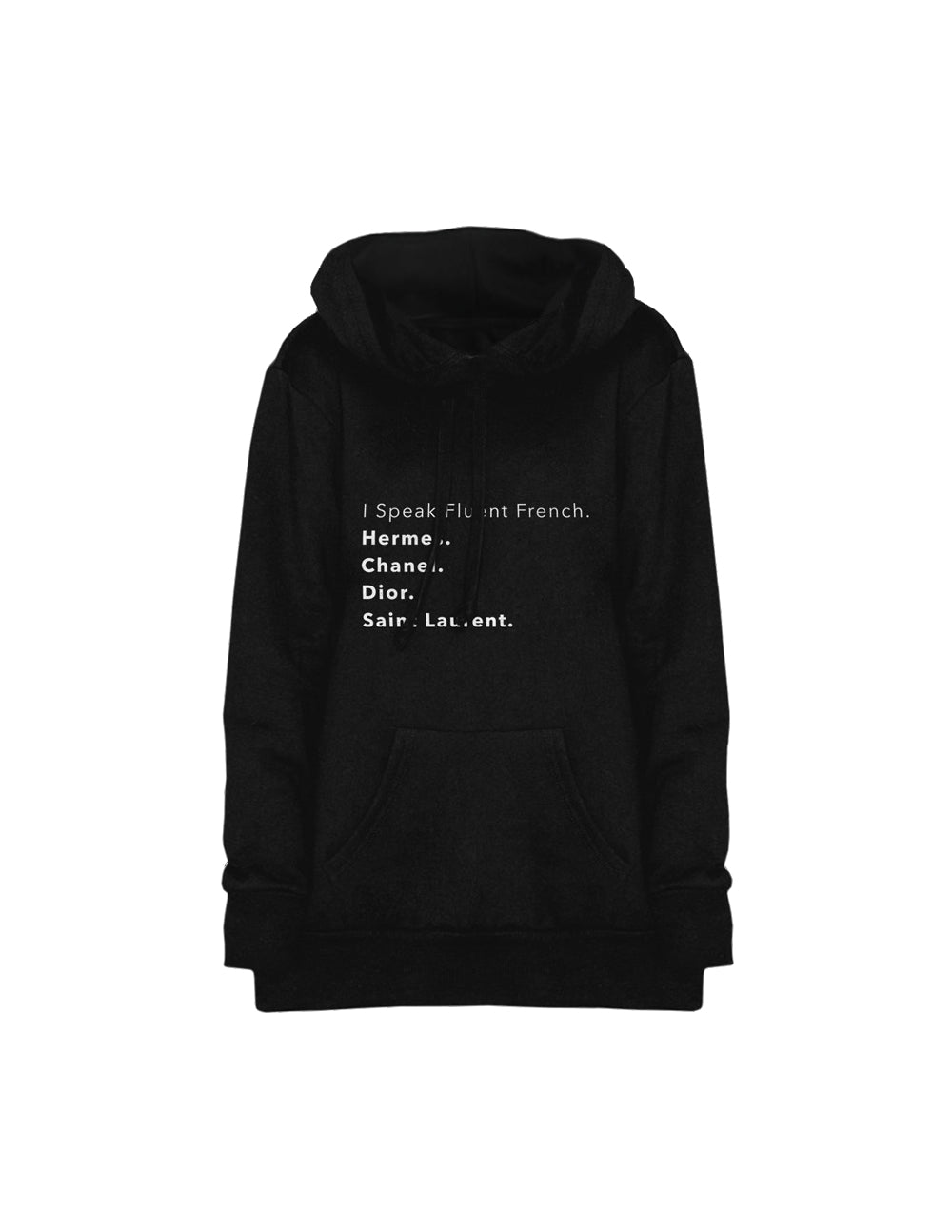 Oversized Hoodie- Fluent French