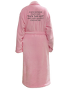 Pink Robe- The Power Of A Woman