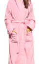 LUXE PLUSH ROBE PINK- Wine Makes Me Happy