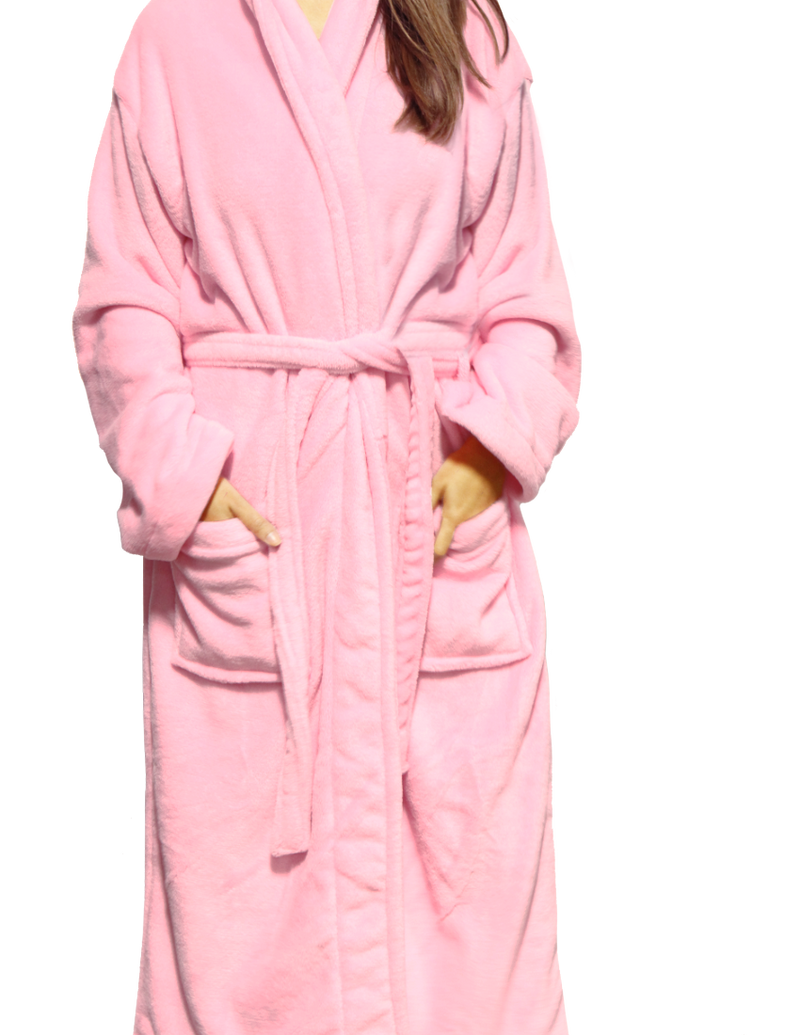 Pink Robe- Wine Makes Me Happy