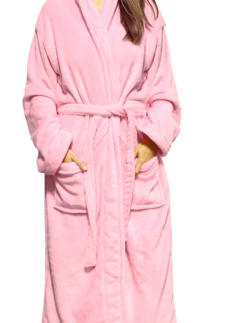 LUXE PLUSH ROBE - Wine Lover