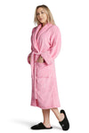 LUXE PLUSH ROBE PINK - Dress Like Coco