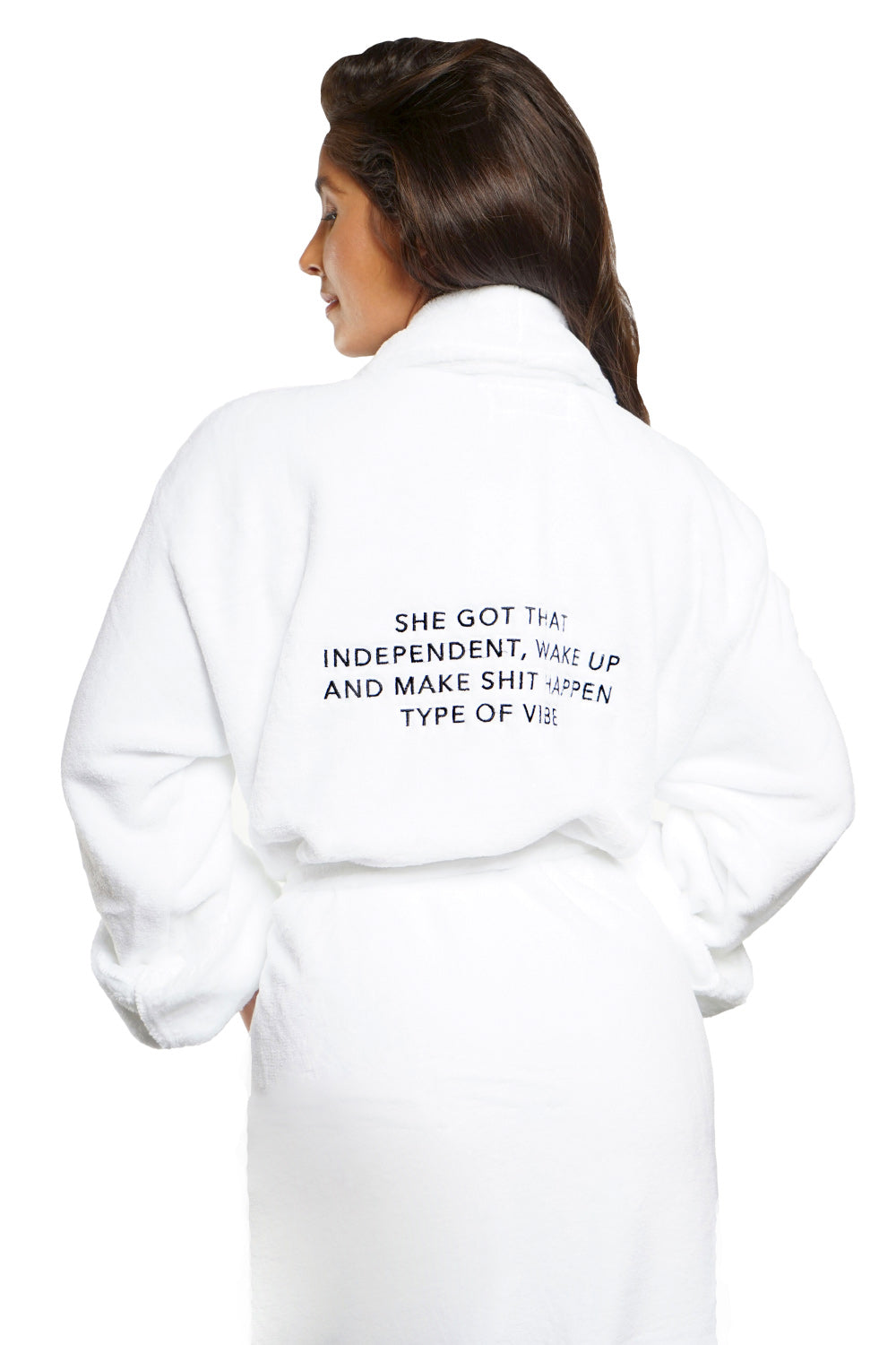 LUXE PLUSH ROBE -Independent Type Vibe