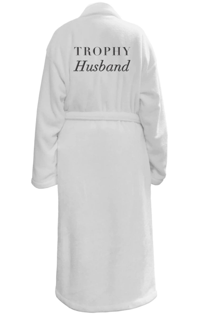 LUXE PLUSH ROBE - Trophy Husband