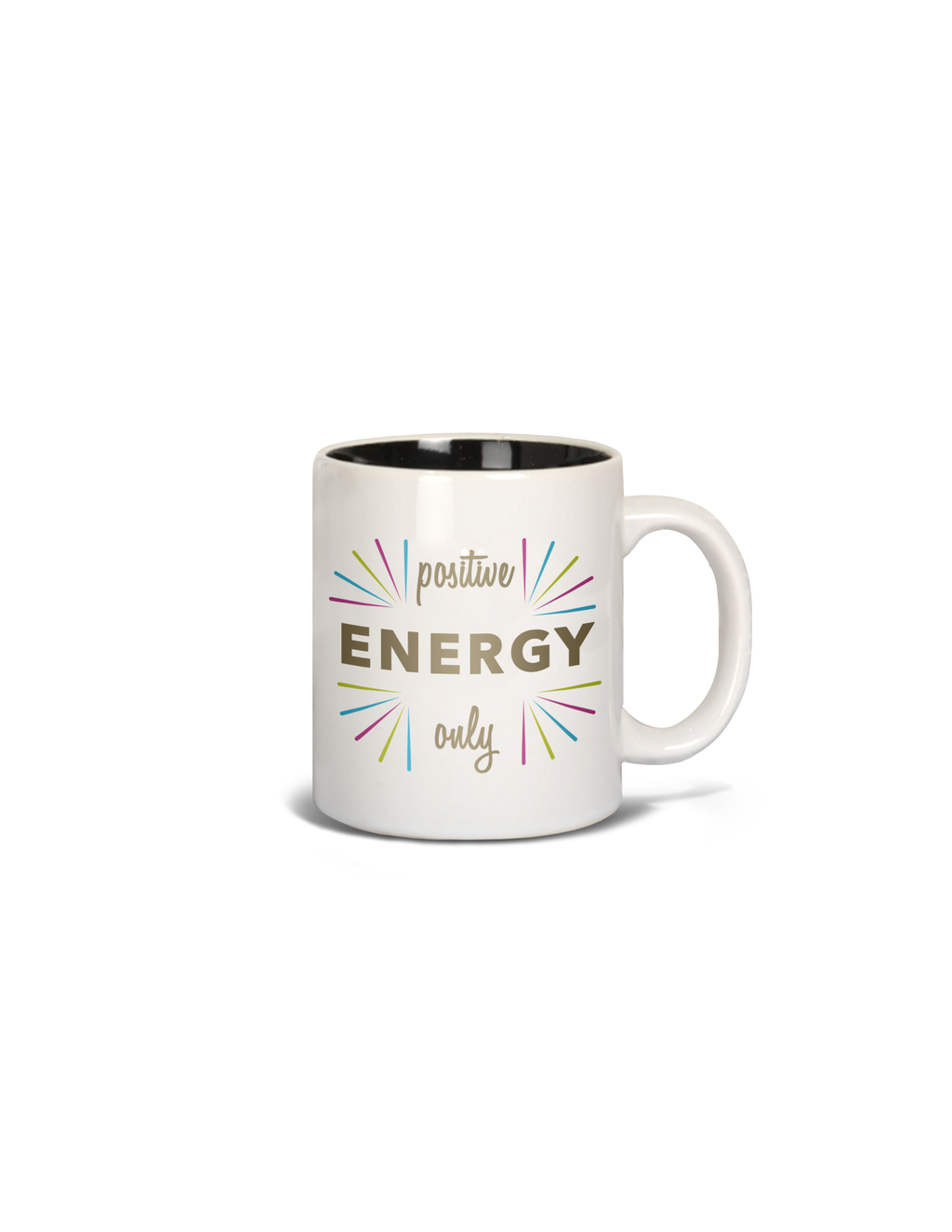 Mug- 15 0z. Positive Energy Only