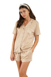 SHORT SET - Dress Like Coco (Taupe)