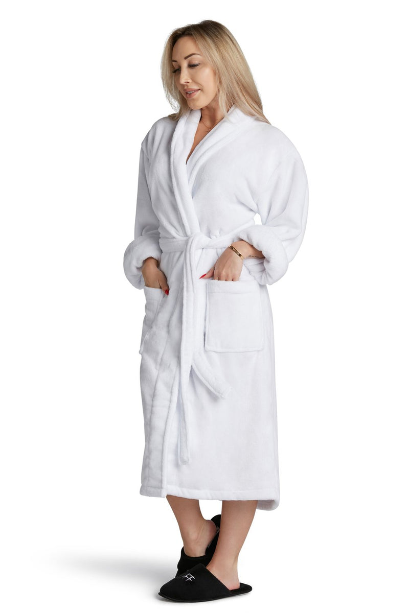LUXE PLUSH ROBE -Bride