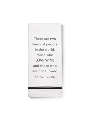 Boxed set of 4 Cocktail Napkins- Cuddle Dog Drink Wine