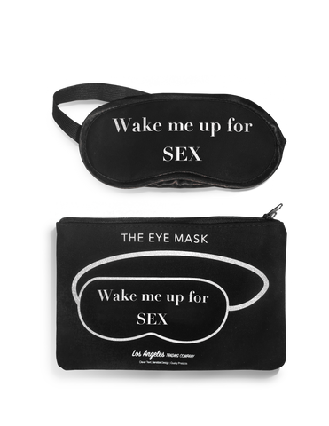 Eye Mask- Wake Me Up For Sex