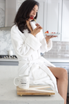 LUXE PLUSH ROBE - Cuddle Dog & Drink Wine