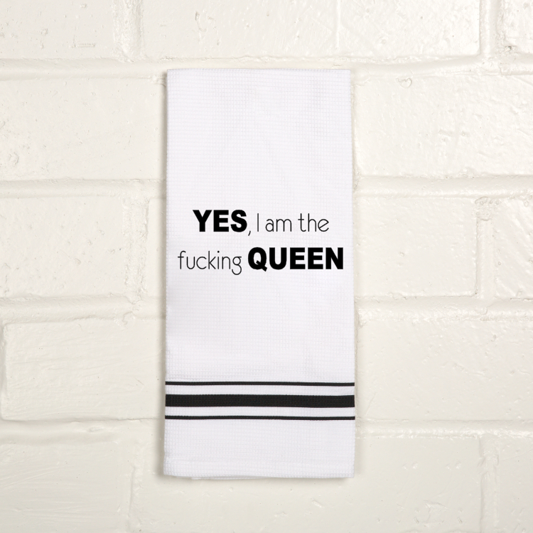 TOWEL- Yes F Queen