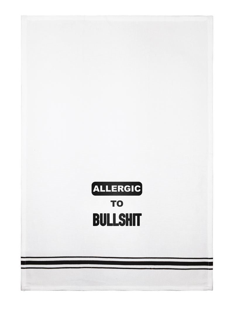 Towel- Allergic to BS