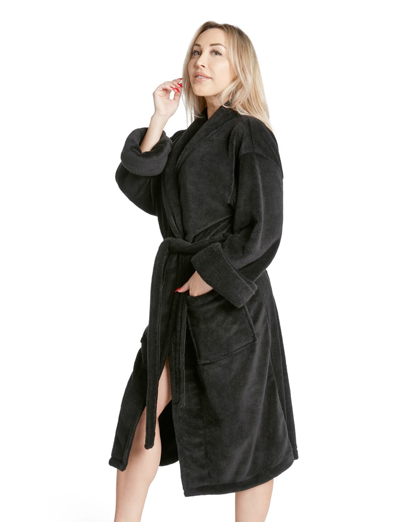 LUXE PLUSH ROBE - Good Karma Only