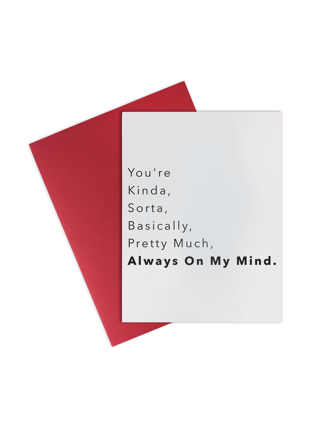 Card-  Always On My Mind