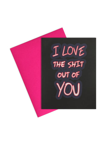 Card- All of me loves every Fing piece of you