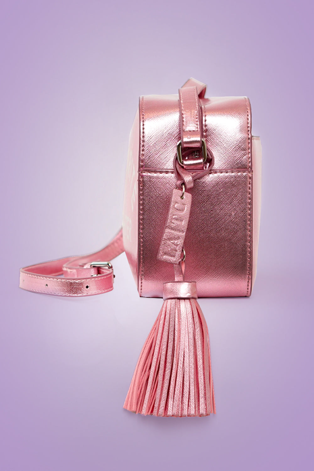 VEGAN CROSSBODY BAG -Favorite Daughter - Pink