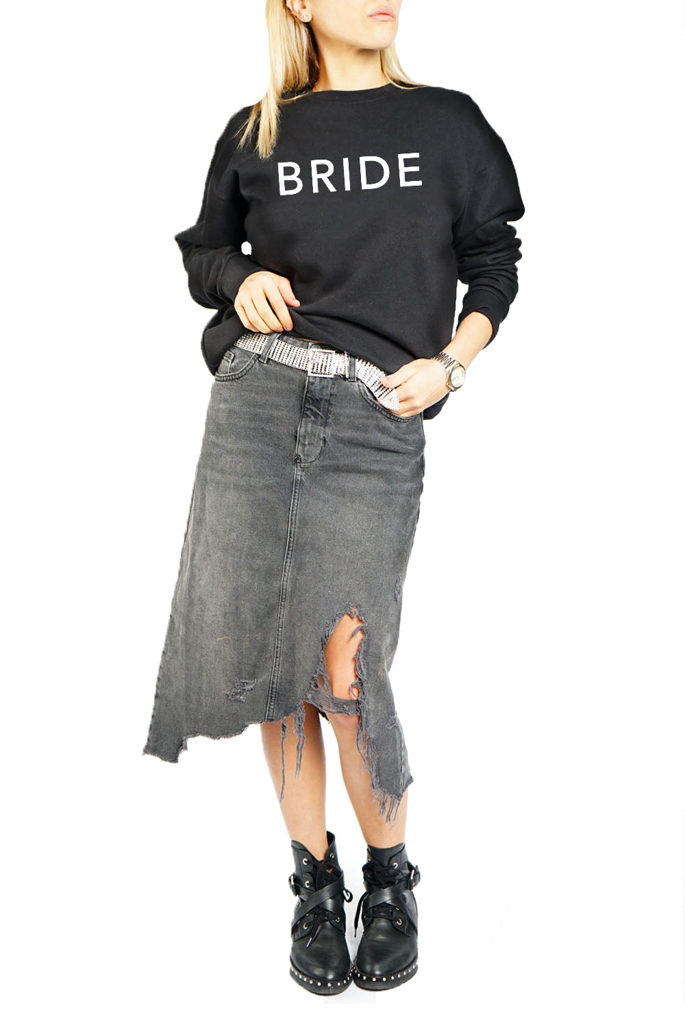 Women's Crewneck - Bride
