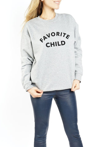 WOMEN'S CREWNECK - Favorite Daughter