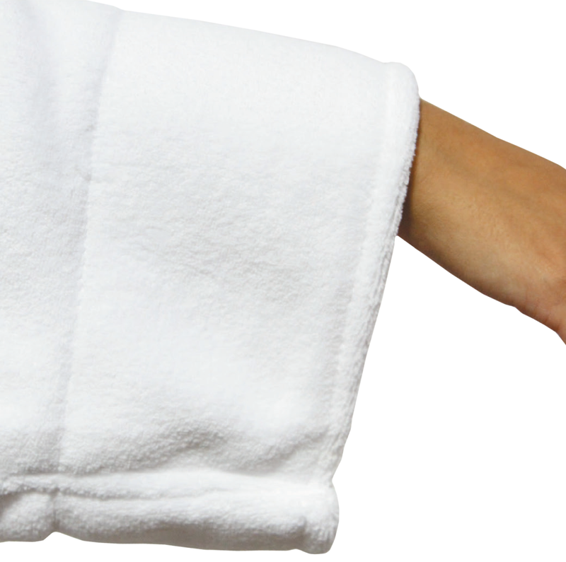LUXE PLUSH ROBE WHITE -  Be A Legend