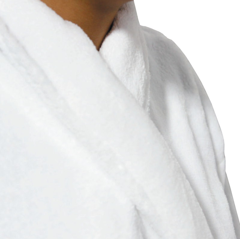 LUXE PLUSH ROBE WHITE- Be Who You Are