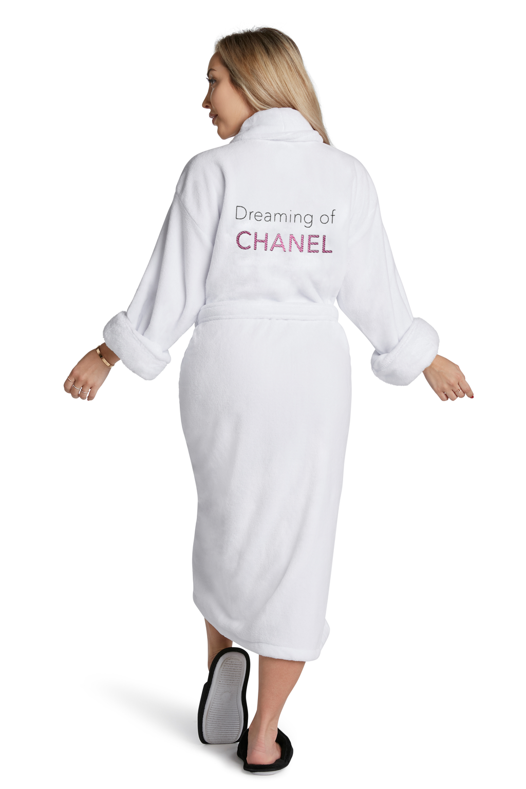 LUXE PLUSH ROBE - Dreaming Of Chanel