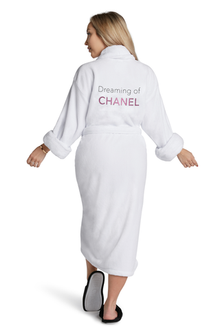 LUXE PLUSH ROBE - F with Me I Dare You