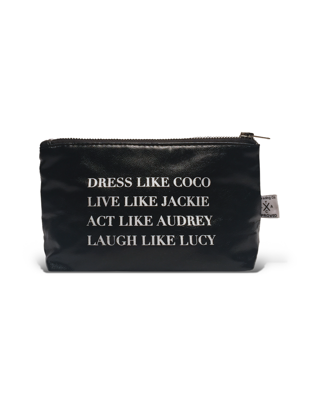 Vegan Leather Pouch- Dress like Coco